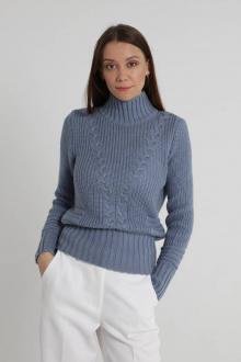 свитер Romgil ТЗ322А (164)серо-голубой