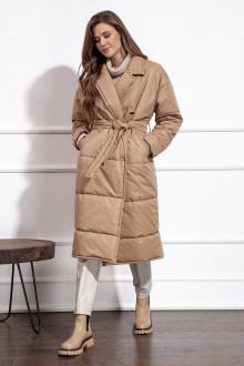 пальто Nova Line 10192 бежевый