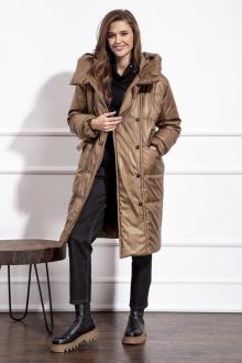 пальто Nova Line 10220 тоффи
