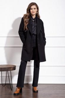 пальто Nova Line 10224 черный
