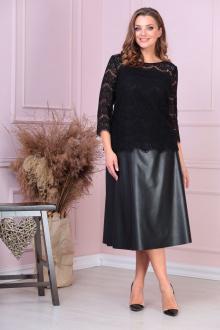 блуза,  юбка Anastasiya Mak 918а черный