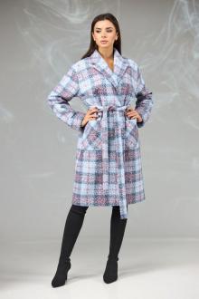 пальто Angelina & Сompany 603 клетка
