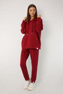 брюки Kivviwear 4040 марсала1