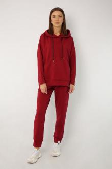 брюки, худи Kivviwear 4015-4040 марсала1