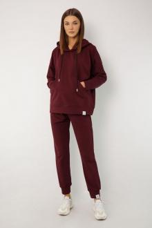 брюки, худи Kivviwear 4015-4040 бордовый