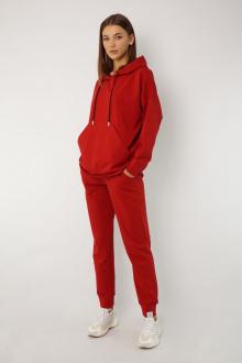 брюки, худи Kivviwear 4015-4040 красный