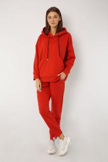брюки, худи Kivviwear 4015-4040 морковно-красный