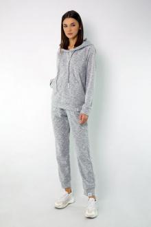 брюки, худи Kivviwear 4046-4050 светло-серый_меланж