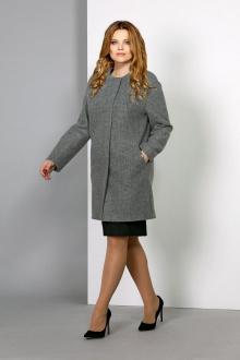 пальто EOLA 1391 серый
