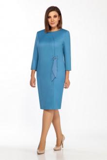 платье Olegran 2019 голубой