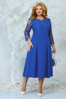 платье Ninele 5847 василек