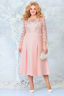 платье Ninele 5847 пудра