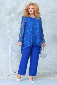 блуза,  брюки Ninele 7336 василек
