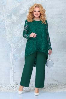 блуза,  брюки Ninele 7336 изумруд