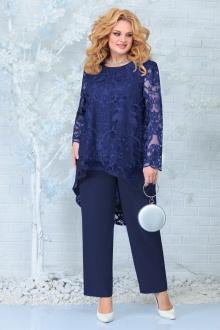блуза,  брюки Ninele 7336 синий