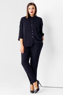 блуза Панда 77640z синий