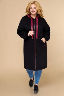 пальто Svetlana-Style 1611 черный