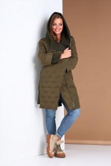 куртка Andrea Style 0410 хаки