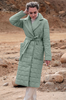 пальто Golden Valley 7123 зеленый