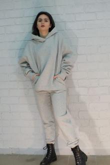 брюки, худи Lady Smile 01_2 серый