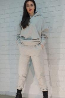 Худи Lady Smile 01_2б серый