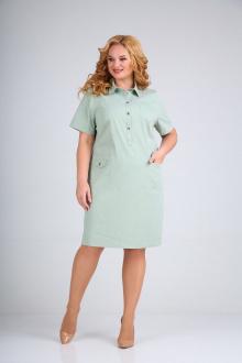 платье Mamma Moda М-600 светло-зеленый
