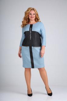платье Mamma Moda М-700 бирюза