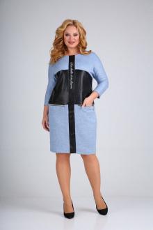 платье Mamma Moda М-700 голубой
