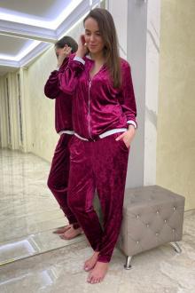 бомбер,  брюки Edibor 2006 фуксия