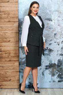 блуза,  жилет,  юбка Белтрикотаж 4232 черный