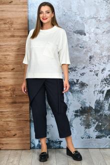 блуза,  брюки Белтрикотаж 4303 белый