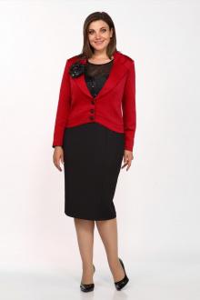 жакет,  платье Lady Secret 3881 красный