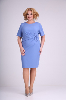 платье Moda Versal П1462 голубой