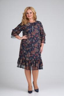 платье Moda Versal П2205 т.синий