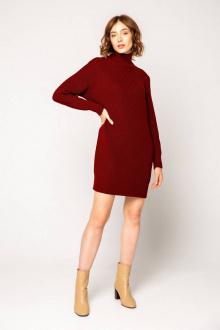 платье Ivera 1040 бордовый