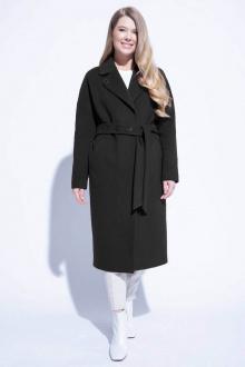 пальто ElectraStyle 4-7038/11-128 черный_меланж