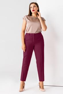 брюки Панда 13460z бордовый