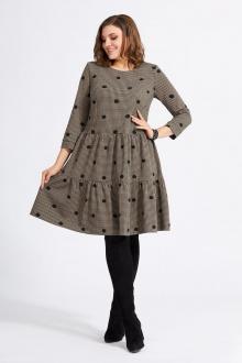 платье Милора-стиль 822 горохи