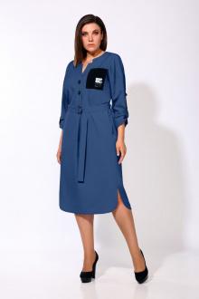 платье Karina deLux М-9903/1 синий