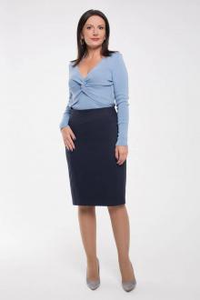 юбка Дорофея 211 темно-синий