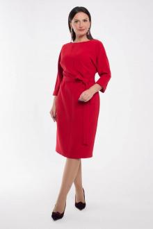 платье Дорофея 583 красный