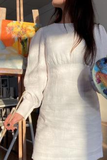 платье Puella 3014 белый