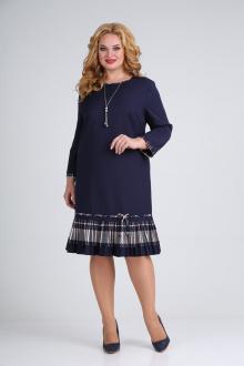платье Moda Versal П2233 т.синий_пудра