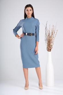 платье,  пояс Verita 2023 голубой