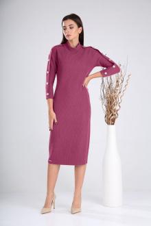 платье,  пояс Verita 2023 розовый