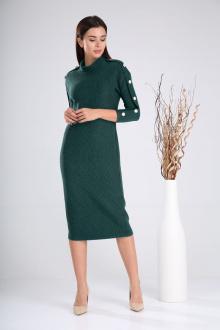 платье,  пояс Verita 2023 зеленый