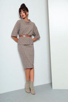 юбка,  блуза Ларс Стиль 634
