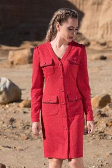 платье Golden Valley 4766 красный