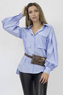 блуза Effect-Style 805 голубой
