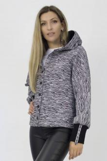 худи Effect-Style 700 чёрно-белый